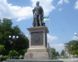 Grigory Potemkin Founder monument (1739-1791)