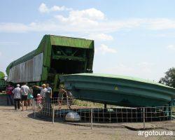 Upper territory of the Missile Base Museum Pervomaysk