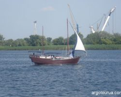 Dnipro River in Kherson
