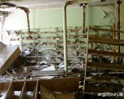 Dearth City Pripyat, School Library