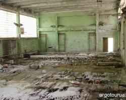 Dearth City Pripyat, School Gymnastic