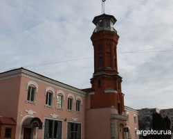 Fire Station and Museum on Fire Safety History Zhytomir