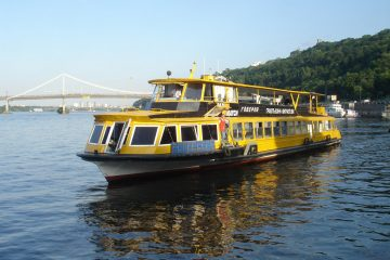 Foto #1 Glavnaya River Dnipro Sightseeing Cruise Kiev
