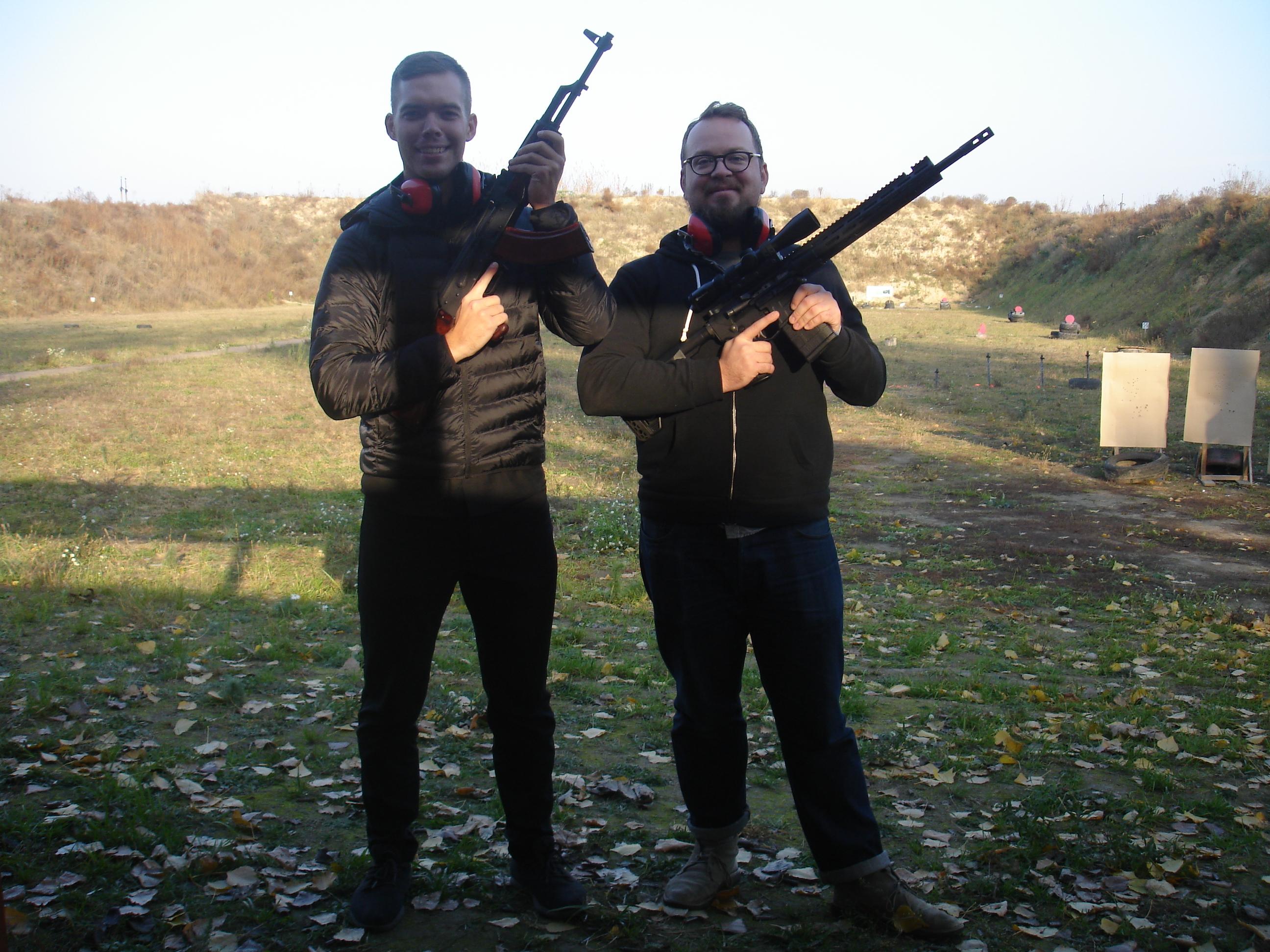 Shooting Gun Range in Kiev