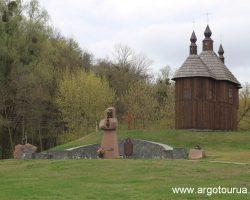 Church and Monument to Ukrainian Cossack