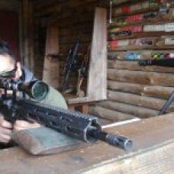 키예프에서 사격 총 범위