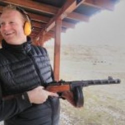 Gun Experience Kiev PPSH41 USSR