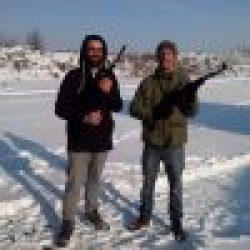 Schieten in Kiev