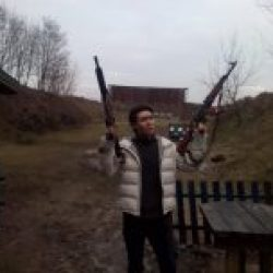 Shooting Gun Range Kiev M4 and AK47