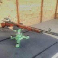 Shooting Gun Range Kiev Mosin Nagant USSR 1937 y