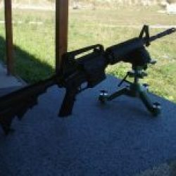 Shooting Gun Range Kiev Norinco CQ-A