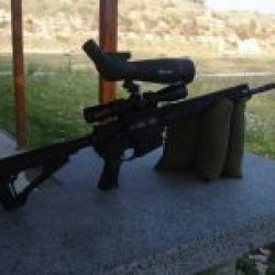 Shooting Gun Range Kiev Savage MSR 15 Recon