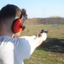 Shooting Gun Range Kiev Ukraine pistol Beretta 92 FS