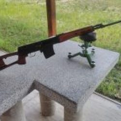 Shooting Gun Range SVD sniper rifle