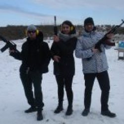 Sparatoria Militare Gun Range a Kiev