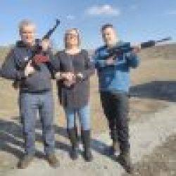 ak 47 Shooting Kiev